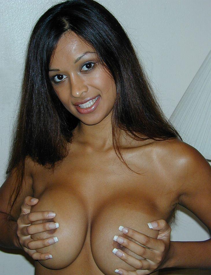 Nipples girl black indian