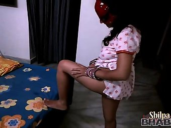 shilpa bhabhi teasing her man in spider woman outfits