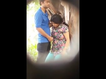 Indian Couple Sex In Garden Caught On Camera