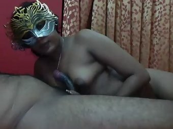 Masked Indian Couple Live Cam Show