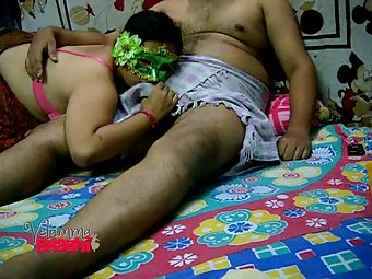 Velamma teasing and playing with her lover big cock